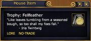 Trophy Fellfeather (Examine)