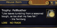 Trophy: Fellfeather