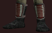 Wax Hardened Boots (Equipped)