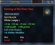 Earring of the Fiery Sun