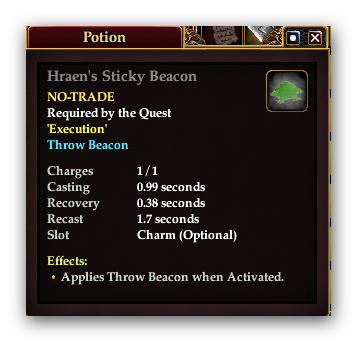 Hraens Sticky Beacon