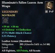 Illuminate's Fallen Leaves Arm Wraps