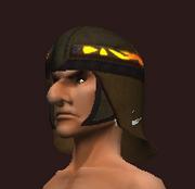 Rake's Black Wolf Chain Helmet (Equipped)