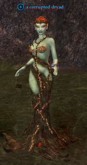 A corrupted dryad