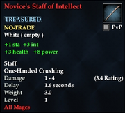 Novice's Staff of Intellect