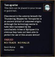 Terraporter