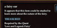 A fairy ear