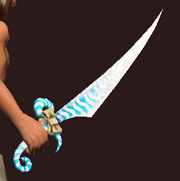 Cool-Mint Sword (Equipped)
