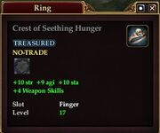 Crest of Seething Hunger