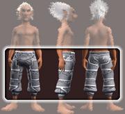 Sensei's Leg Wraps (Equipped)