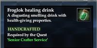 Froglok healing drink
