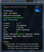 Mission Stone of the Void