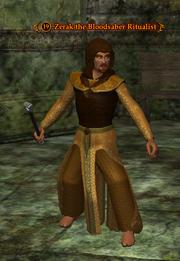 Zerak the Bloodsaber Ritualist