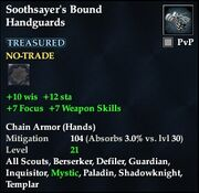 Soothsayer's Bound Handguards