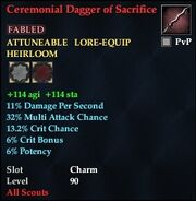 Ceremonial Dagger of Sacrifice