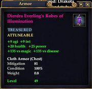 Dierdra Everling's Robes of Illumination