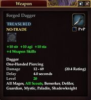 Forged Dagger