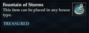 Fountain of Storms