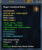 Mage's Sundered Robes