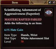Scintillating Adornment of Aggressiveness (Superior)