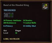 Band of the Hooded King