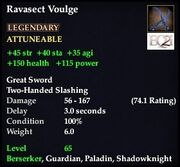 Ravasect Voulge
