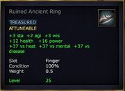 Ruined Ancient Ring