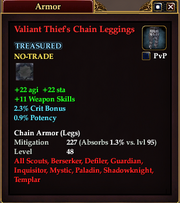 Valiant Thief's Chain Leggings
