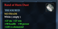 Band of Horn Dust