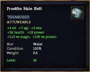 Frostfin Skin Belt