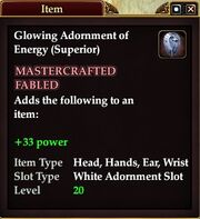 Glowing Adornment of Energy (Superior)