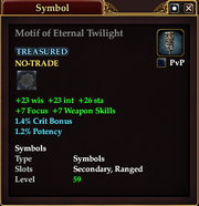 Motif of Eternal Twilight