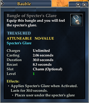 Bangle of Specter's Glare