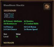 Bloodthorn Shackle