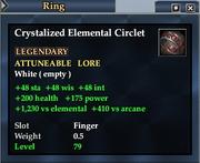 Crystalized Elemental Circlet