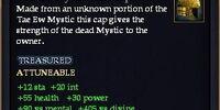 Tae Ew Mystic Silk Cap
