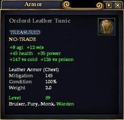 Orclord Leather Tunic