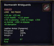 Stormwrath Wristguards
