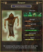 Reaper arena stats