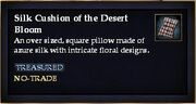Silk Cushion of the Desert Bloom