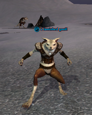 A famished gnoll