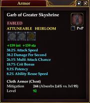 Garb of Greater Skyshrine