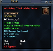 Almighty Cloak of the Othmir