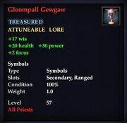 Gloompall Gewgaw