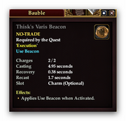 Thisks Varis Beacon