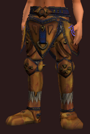 Corrupted Combine Armor Greaves (Equipped)