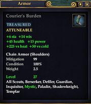 Courier's Burden