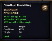 Norrathian Runed Ring