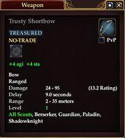 Trusty Shortbow
