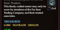 Grey Shoulderpads of the Far Seas Traders